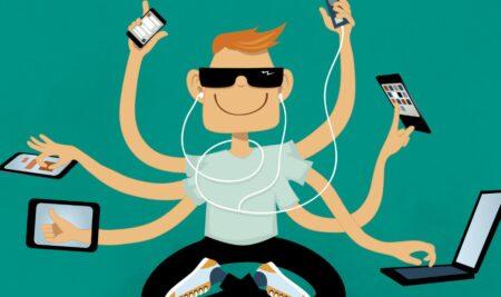 Một số hướng dẫn về tư thế khi teen sử dụng thiết bị điện tử